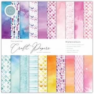 Bilde av Craft Consortium - 12x12 - Essential Paper Pad - Watercolours