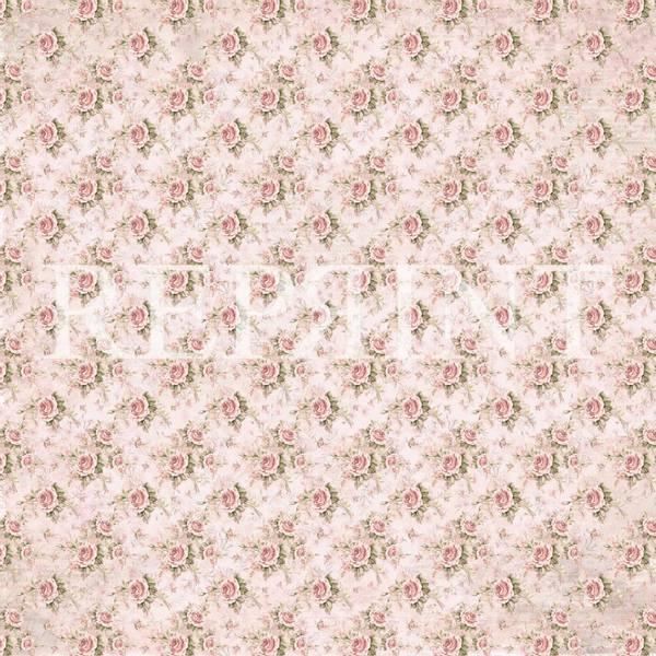 Reprint - 12x12 - RP0376 - Little Girls - Small Roses