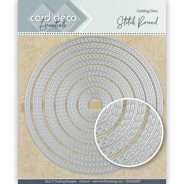 FIT - Dies - CDECD0027 - Card Deco Essentials - Stitch Round