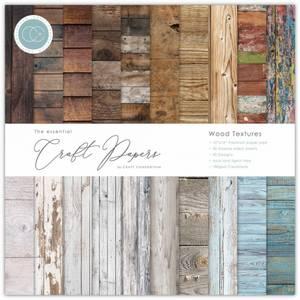 Bilde av Craft Consortium - 6x6 - Essential Paper Pad - Wood Textures