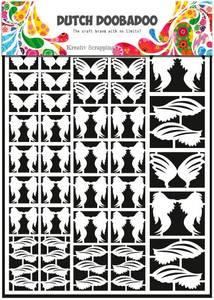 Bilde av DUTCH DOOBADOO 472.948.013 - DUTCH PAPER ART - FEATHERS