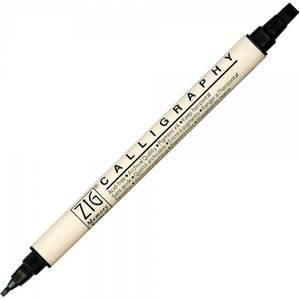 Bilde av Zig - Memory System - Calligraphy Dual-Tip Marker - Pure Black