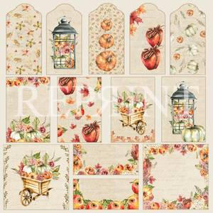 Bilde av Reprint - 12x12 - RP0383 - Shades of fall - Tags