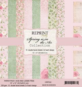 Bilde av Reprint - 12x12 - CRP032 - Spring is in the Air Collection pack