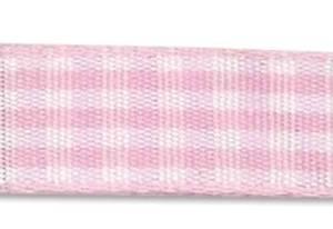 Bilde av Din fantasi - Bånd - 10mm - Rutet - 41 - Lys rosa - 10 meter