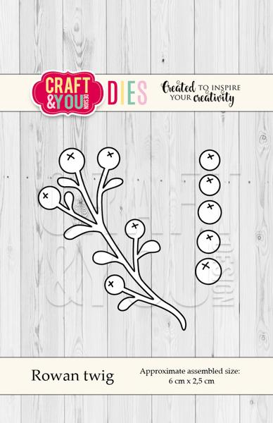 Craft & You - Dies - CW056 - Rowan Twig