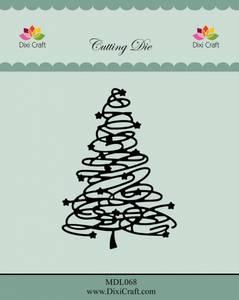 Bilde av Dixi Craft - Dies - MDL068 - Swirly Christmas Tree