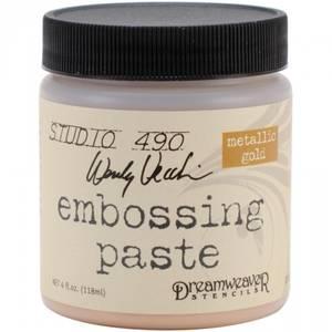 Bilde av Studio 490 - EMBOSSING PASTE - GOLD