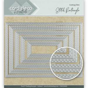 Bilde av FIT - Dies - CDECD0029 - Card Deco Essentials - Stitch Rectangle