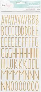 Bilde av Thickers - 340202 - Puffy Letters - Gold - Desktop
