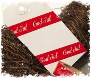 Bilde av Papirdesign - Dekor tape - Washi - God jul