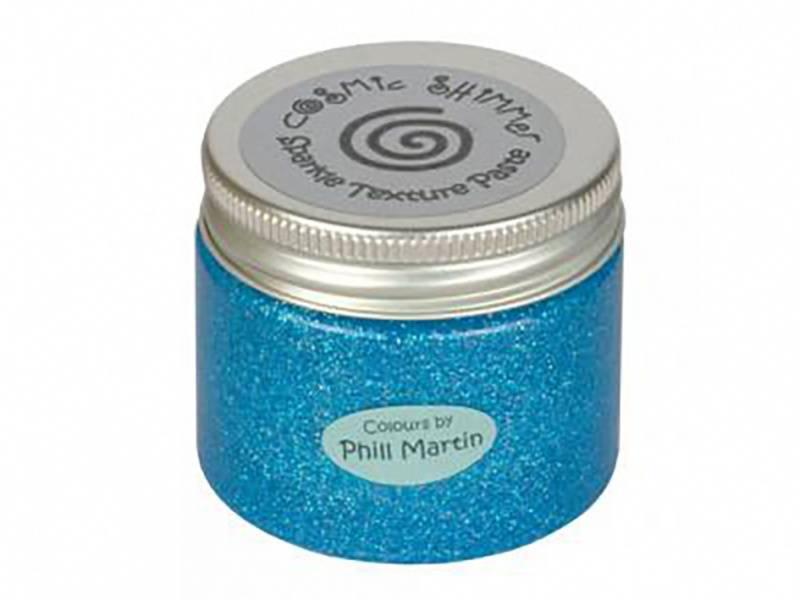 Cosmic Shimmer - Sparkle Paste 50ml - Graceful Blue