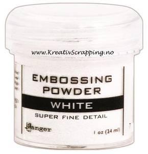 Bilde av Ranger - Embossing powder - Super Fine Detail - White