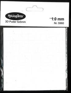 Bilde av HobbyGros - 3D Puter - 5x5mm - 1.0mm