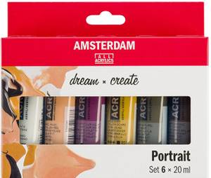 Bilde av Amsterdam - Acrylic Standard - 20ml - Sett  6 ass Portrett