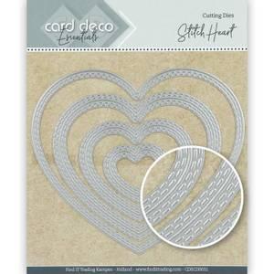 Bilde av FIT - Dies - CDECD0031 - Card Deco Essentials - Stitch Heart