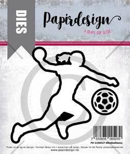 Bilde av Papirdesign Dies PD2100527 - Håndballdame