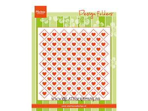 Bilde av Marianne Design - DF3432 - Design folders - SWEET HEARTS