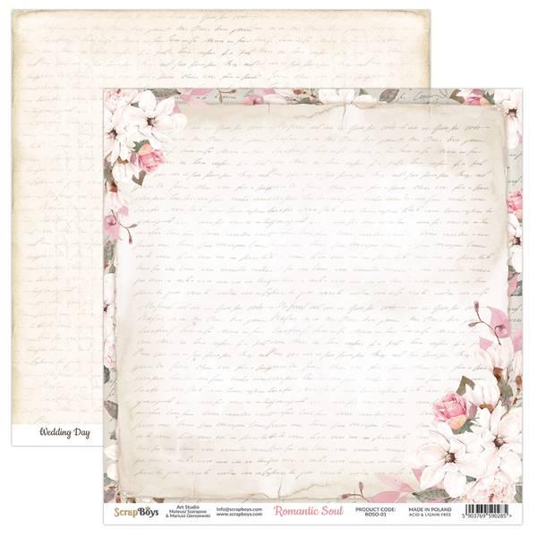 ScrapBoys - Romantic Soul - 12x12 - ROSO-01