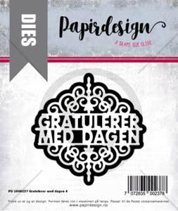 Bilde av Papirdesign Dies PD1900237 - Gratulerer med dagen 4