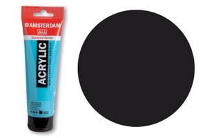 Bilde av Amsterdam - Acrylic Standard - 120ml - 702 LAMP BLACK