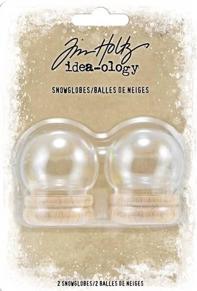 Tim Holtz - Idea-ology - TH94015 - Snowglobes (2pcs)