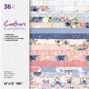 Bilde av Crafter's Companion - Paper Pad 12x12 - Full Blooms