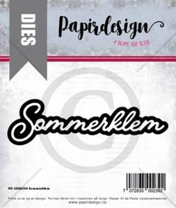 Bilde av Papirdesign Dies PD1900239 - Sommerklem