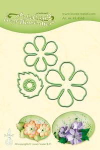 Bilde av Leane Creatief - 45.4568 - LeCrea Easy Flower dies - 002