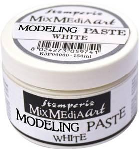 Bilde av Stamperia - Mix Media Art - Modelling Paste - White - 150ml