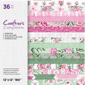 Bilde av Crafter's Companion - Paper Pad 12x12 - Quintessentially English