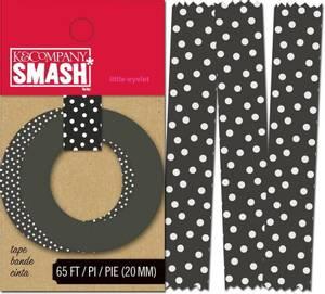 Bilde av K&Company - Smash - Washi Tape - Black Dots