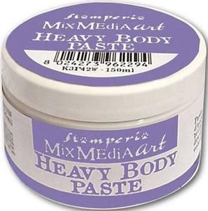 Bilde av Stamperia - Mix Media Art - Heavy Body Paste - White - 150ml