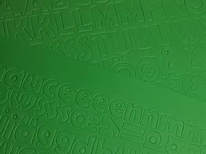 Bilde av Mosegummi - Alfabet & tall - Grønn