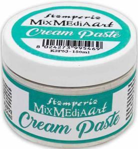 Bilde av Stamperia - Mix Media Art - Cream Paste - White - 150ml