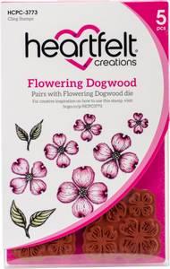 Bilde av Heartfelt Creations - Flowering Dogwood - Cling Rubber Stamp Set