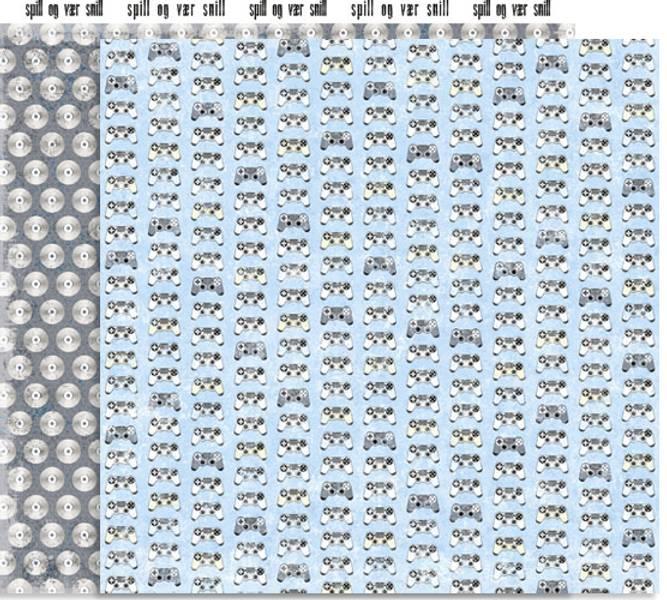 Papirdesign PD14892 - Forventning - Spillkonsoller