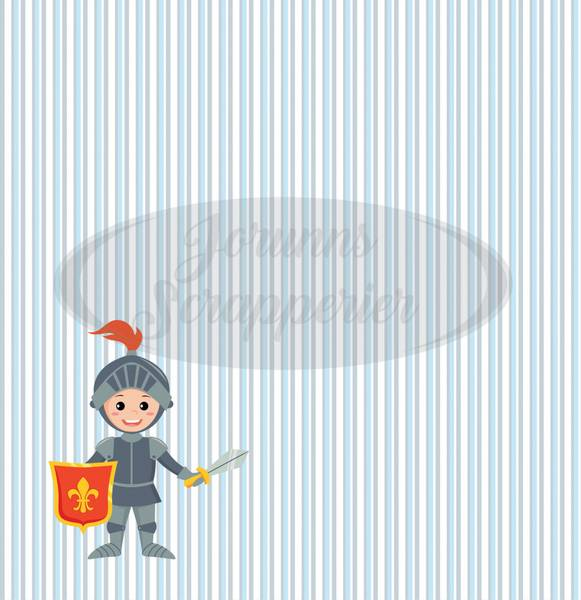 Jorunns Scrapperier - JS21-011 - Barndom - Ridder Ralf
