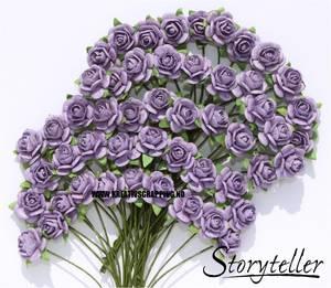 Bilde av Storyteller - Rose - Lilla - 10mm - 3207