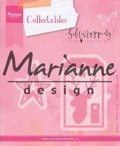 Bilde av Marianne Design - Collectable dies - COL1442 - Karins deer, star