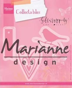 Bilde av Marianne Design - Collectable dies - COL1443 - Karins bird, hear