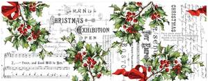 Bilde av Tim Holtz - Idea-ology - TH93762 - Collage Paper Holly (6yards)