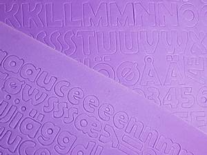 Bilde av Mosegummi - Alfabet & tall - Lilla