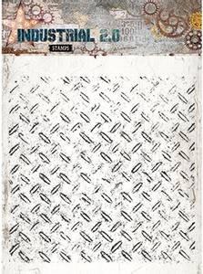 Bilde av Studiolight - 251 - Stamps - 14x14 - Industrial 2.0 - Background