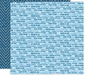Bilde av Papirdesign PD14874 - Forventning - Gratulerer, blå