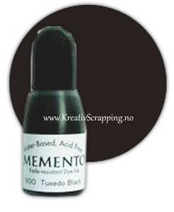 Bilde av Memento Dye Ink Refill - Tuxedo Black