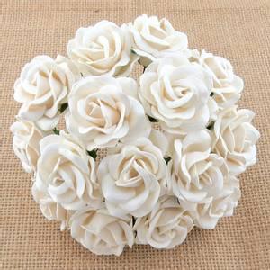 Bilde av Flowers - Chelsea Roses - Saa-317 - White - 50stk