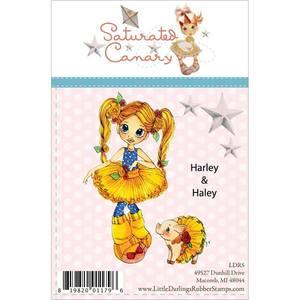 Bilde av Saturated Canary stamp 5063 - HARLEY & HALEY