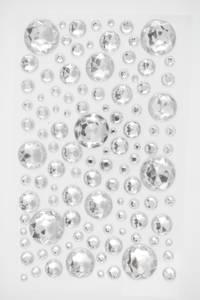Bilde av Kort & Godt - Stickers - BE106 - Diamant - 4-20mm - Klar