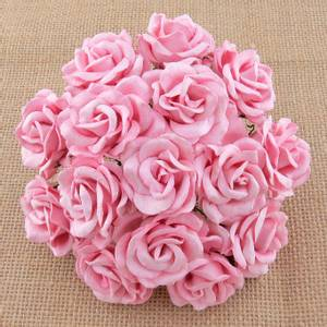 Bilde av Flowers - Chelsea Roses - Saa-477 - Baby Pink - 50stk